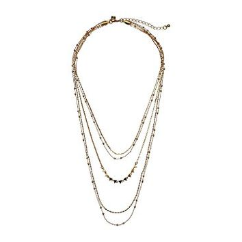Rebecca Minkoff Ellie Triangle Layers Necklace