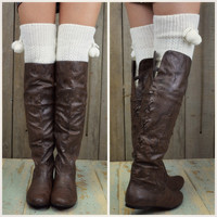 SZ 9 Victory Brown Lace Up Boots-OUT OF BOX