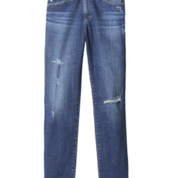 Rebecca Taylor Beau Distressed Slouchy Skinny Jean