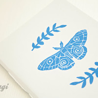 Moth Notebook * Insect Journal * A6 Insect Notebook * Travel Notebook  * Nature * Small Pocket Journal * Minimalist * Gift