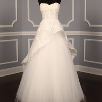 MONIQUE LHUILLIER AZURE WEDDING DRESS