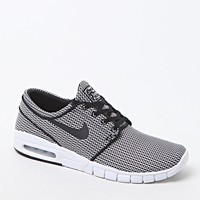 Stefan Janoski Max Black & White Shoes