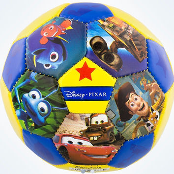 Disney Parks Pixar Characters Nemo Remy Wall-e UP Mini Soccer Ball New