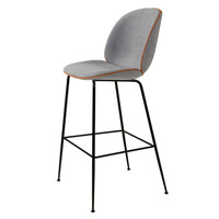 Gubi Beetle Bar Stool in Remix Fabric