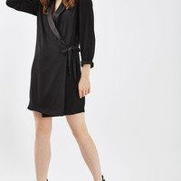 PETITE Tie Side Blazer Dress | Topshop
