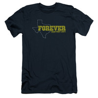 FRIDAY NIGHT LIGHTS/TEXAS FOREVER - S/S ADULT 30/1 - NAVY - MD - NAVY -