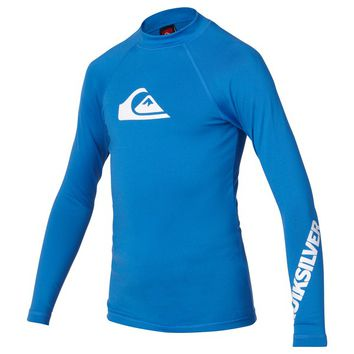 Quiksilver - Boys All Time Long Sleeve Rashguard