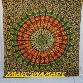 Mandala Tapestries, Hippie Tapestries,Indian Tapestry, Wall Tapestries, Hippie Dorm Tapestry,Hippie Wall Decor, Bohemian Tapestries