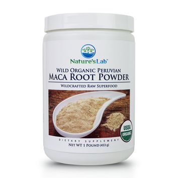 Nature's Lab Maca Root Powder - 1 lb (453 g)