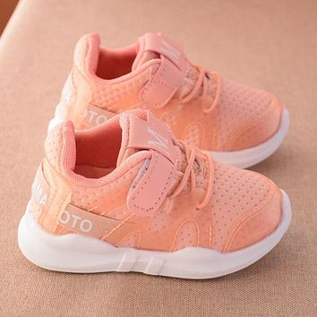 Children Sneakers Spring Autumn Fashion Soft Toddler Girls Boys Loafers Net cloth Running Casual Shoes kids