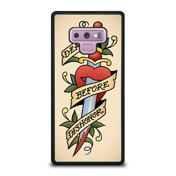 SAILOR JERRY TATTOO Samsung Galaxy Note 9 Case