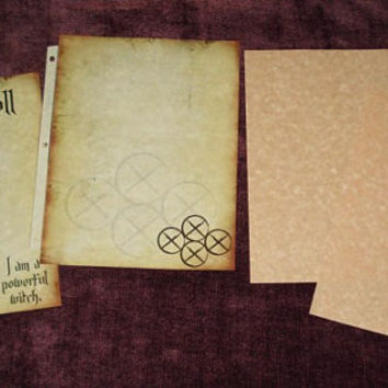 Power Spell Pages (Mounted Pages)