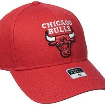 Chicago Bulls Adult Structured Logo Adjustable Hat