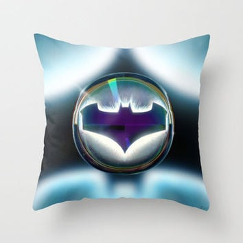 Drops of Superhero #1... Throw Pillow by Emiliano Morciano (Ateyo)
