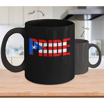 Puerto Rico PR Pride Coffee Mug Hot and Cold