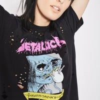 Metallica Nibbled Tee by And Finally