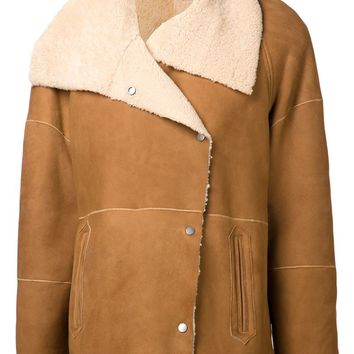 Vince spread collar coat
