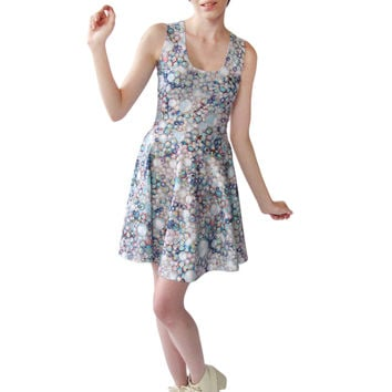 Crystal Fit and Flare Dress