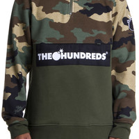 SHOP THE HUNDREDS | The Hundreds: Dime half zip-up sweatshirt