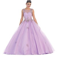 Quinceanera Long Dresses Sweet 16 Prom Gown
