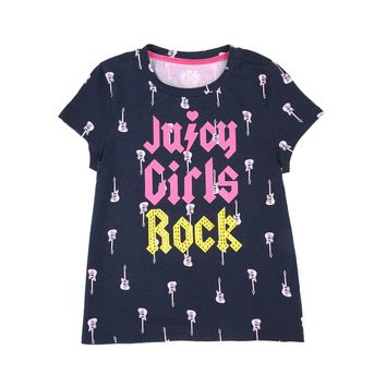 Juicy Girls Rock Graphic Tee by Juicy Couture