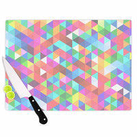 "Fimbis ""Marques"" Pink Purple Cutting Board"