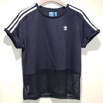 adidas Originals Hollow Mesh Splicing Osaka Tee T-shirt