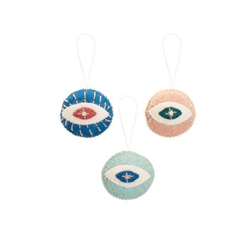 Felt Lucky Eye Ornament