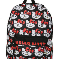 Loungefly Hello Kitty Allover Nerd Backpack | Hot Topic