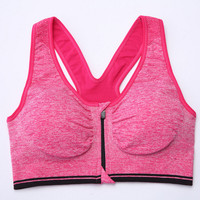 Women's Padded Sports Bras Vest Racerback Seamless Profession Running Fitness Workout Yoga Bra Tank Top Gift-01