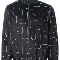 Pigalle high collar printed bomber jacket