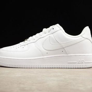 DCCK Originals Nike Air Force One 1 Low All White AF1 '07 315122-111