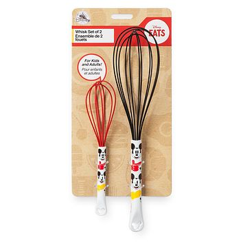 Disney Eats Mickey Mouse Whisk Set New with Card