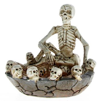 💀 Skull Gothic Home Decorative Ashtray