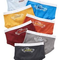 Day-of-the-Week Brief 7-Pack for Baby