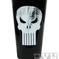 Punisher Logo Marvel Pint Glass