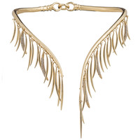 Prickle Collar Necklace with Crystals - Eddie Borgo