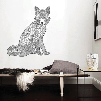 ik2949 Wall Decal Sticker animal fox living room bedroom