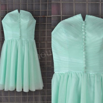 Mint Short Prom Dresses, Bridesmaid Dress, Party Dresses, Evening Dresses, Wedding Party Dresses,Cocktail Dress