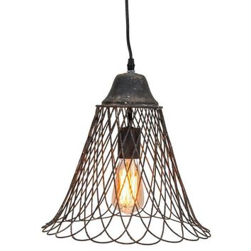 Banded Glass Chandelier - 5-Light from West Elm | Home