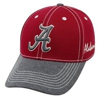 Alabama Top of the World High Post Memory Fit Flex Hat | Alabama Memory Fit Hat | BAMA One-Fit Hat