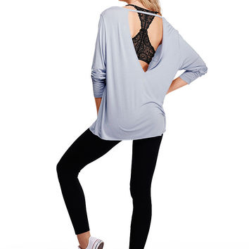 Super Soft V-Back Tee - PINK - Victoria's Secret