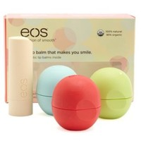 EOS All Natural Lip Balms - 4 Pack by Charlotte Russe - Multi
