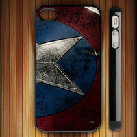captain america - iPhone 4 / iPhone 4S / iPhone 5 / Samsung S2 / Samsung S3 / Samsung S4 Case Cover