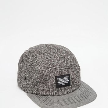 ASOS | ASOS 5 Panel Cap In Gray With Nep at ASOS