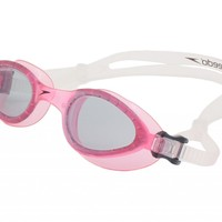 Speedo Women's Hydrospex Swimming Goggles Anti-Fog Lens Swim Goggle Pink NEW
