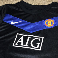 Sale!! Vintage Nike MANCHESTER UNITED Soccer Jersey Toddler MUFC Football Shirt