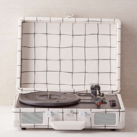 Crosley X UO Cruiser Wonky Grid Bluetooth Record Player - Urban Outfitters