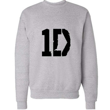 one direction sweater Gray Sweatshirt Crewneck Men or Women for Unisex Size with variant colour