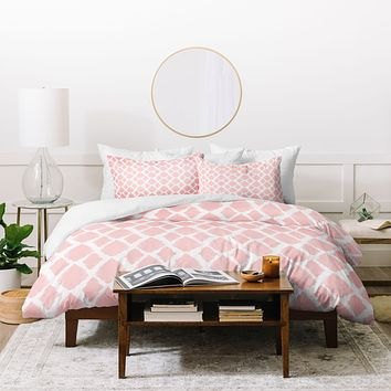 Allyson Johnson Blushed iKat Duvet Cover